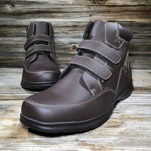 Dr Scholl's Advanced Comfort Brown High Top Shoes